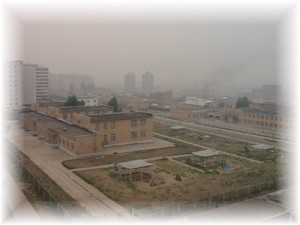 Very dense haze over Ulaanbaatar