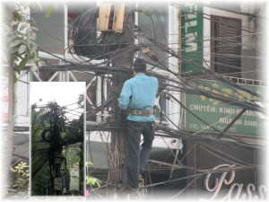 Telecom and Power Cabling in Hanoi