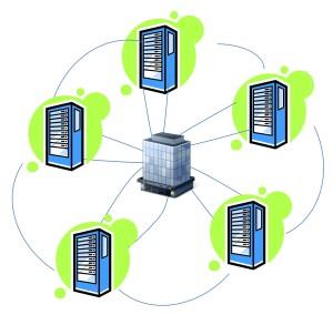 Data Center within a Data Center Cloud