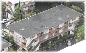 Another black rooftop near Waikiki