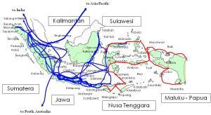 basic map showing palapa ring