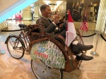 Obama at Plaza Indonesia