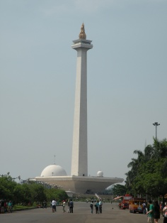near the Monument MONAS Bus Station