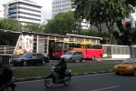 Bus station near Le Meridien Hotel