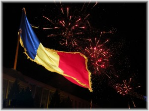 At the Independence Day Celebration in Chisinau